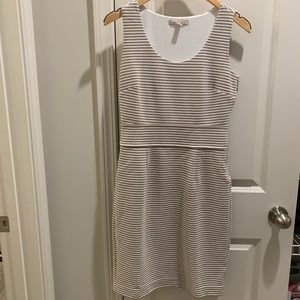Banana Republic stripe dress.